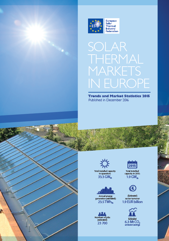 Solar Thermal Markets in Europe – Trends and Market