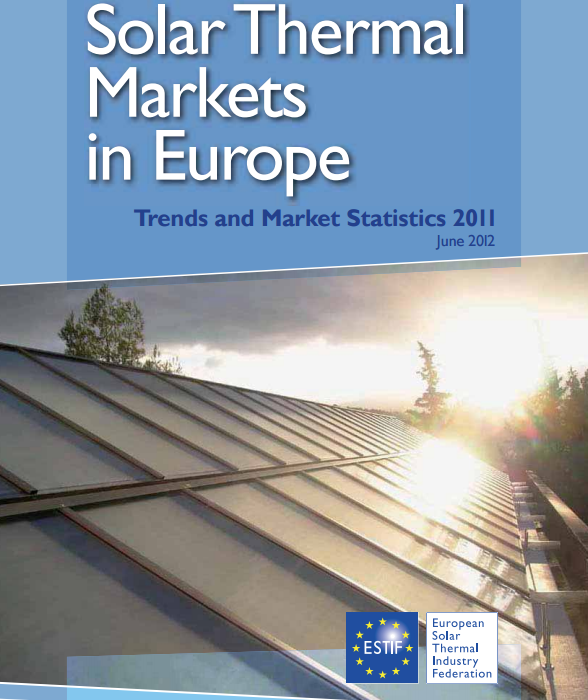 Solar Thermal Markets in Europe – Trends and Market Statistics 2011 (published June 2012)