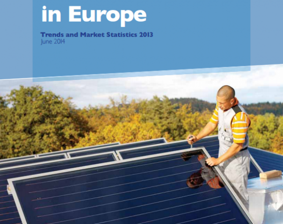 Solar Thermal Markets in Europe – Trends and Market Statistics 2013 (published June 2014)