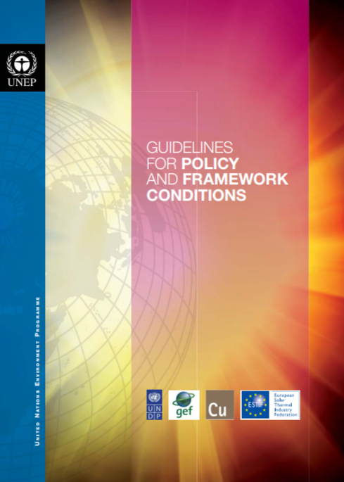 Guidelines for policy and framework conditions