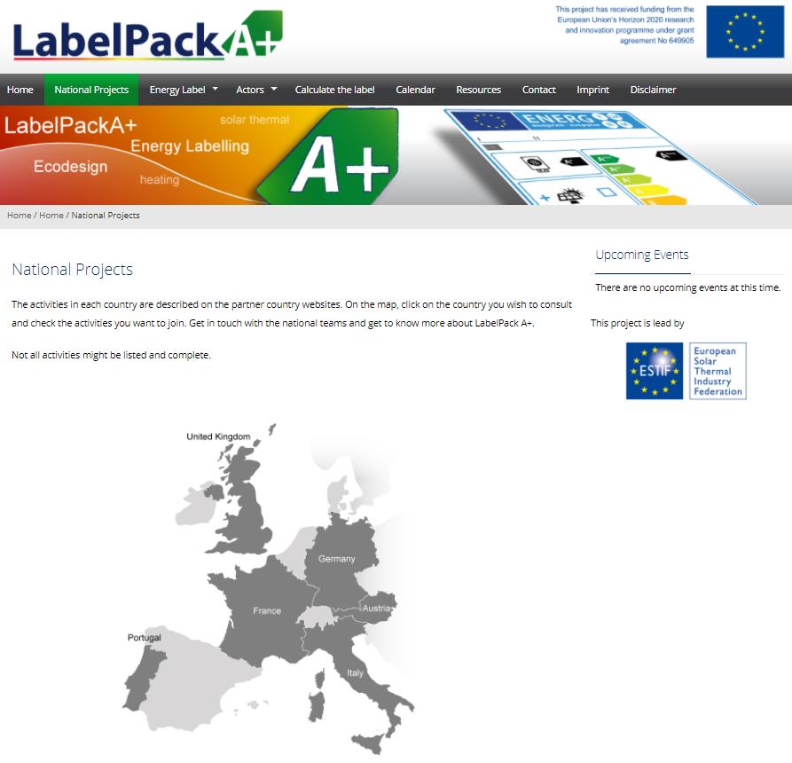 LabelPack website