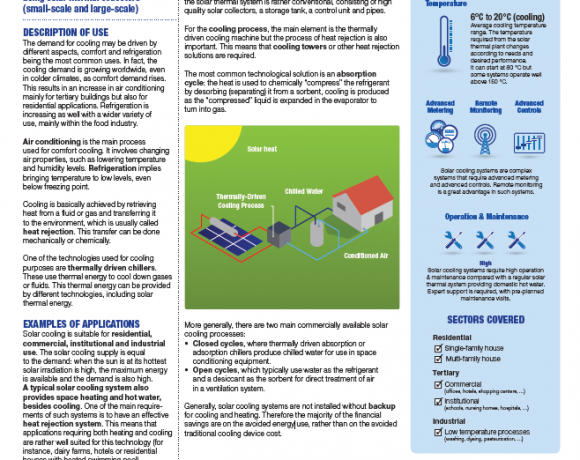 Solar Thermal Cooling