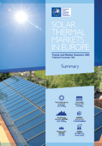 Solar Thermal Markets In Europe – Trends And Market Statistics 2015 (Published In November 2016)