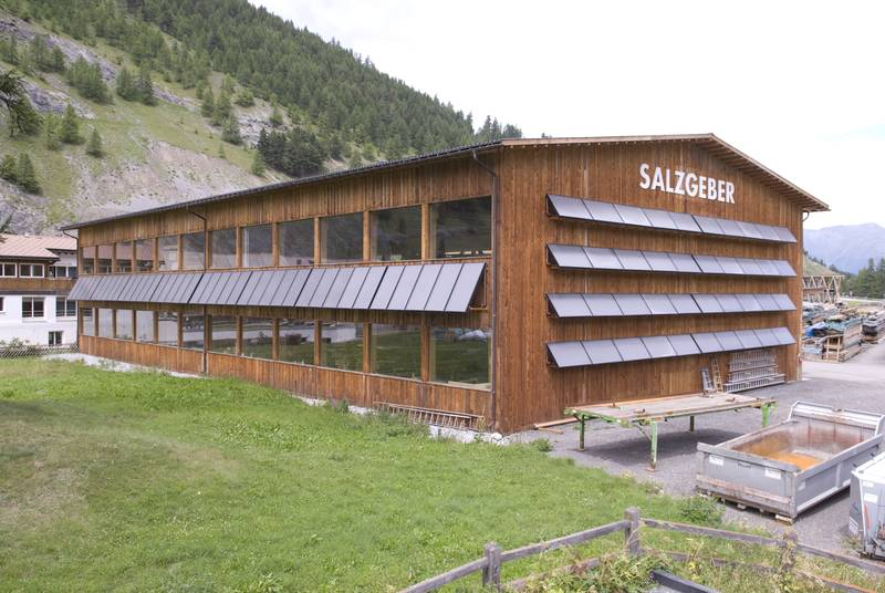 Salzgeber Holzbau Halle – Timber building company – Switzerland