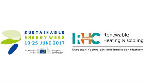21 June – RHC-ETIP session at EUSEW: Innovation in the Renewable Heating and Cooling sector