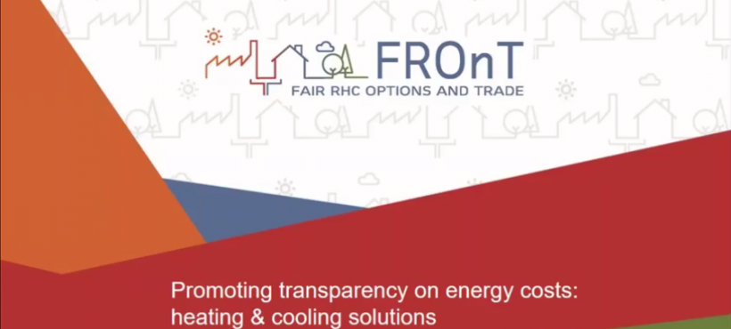 Promoting transparency on energy costs: heating & cooling solutions