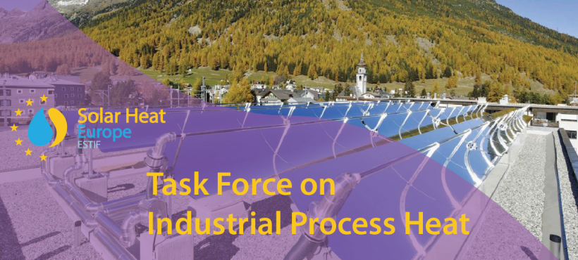 Task Force on Solar Heat for Industrial Process (SHIP) next steps
