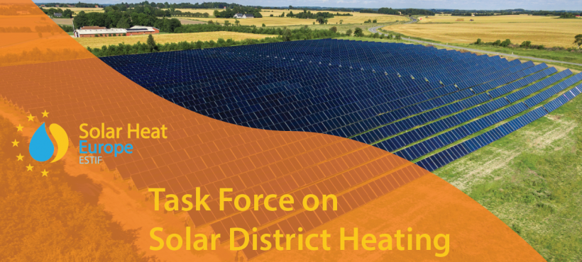 Task Force on Solar District Heating – 08/05/2018