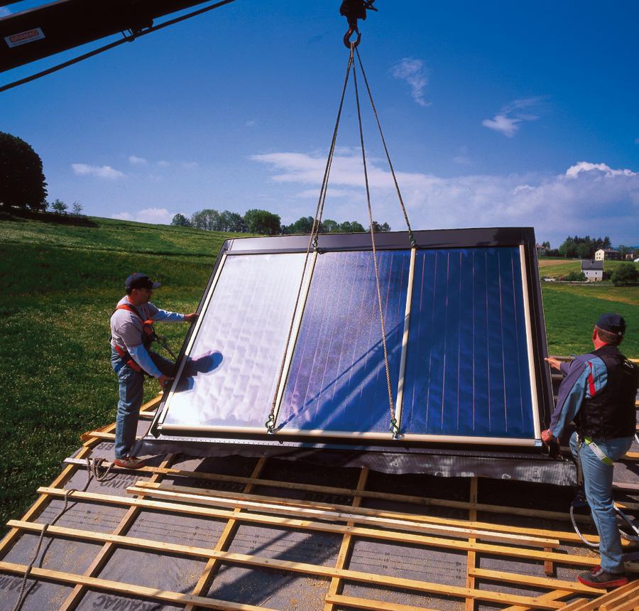 Austria Solar Solar Heat Europe – Installation Solar Flat Collectors – V2