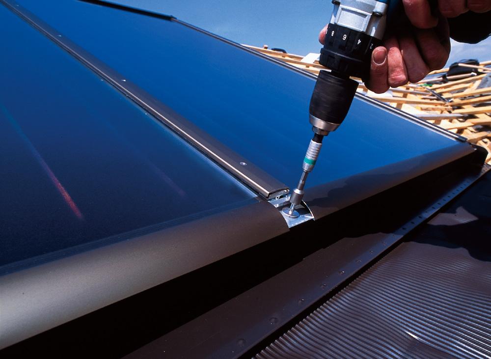 Austria Solar Solar Heat Europe – Installation Solar Flat Collectors