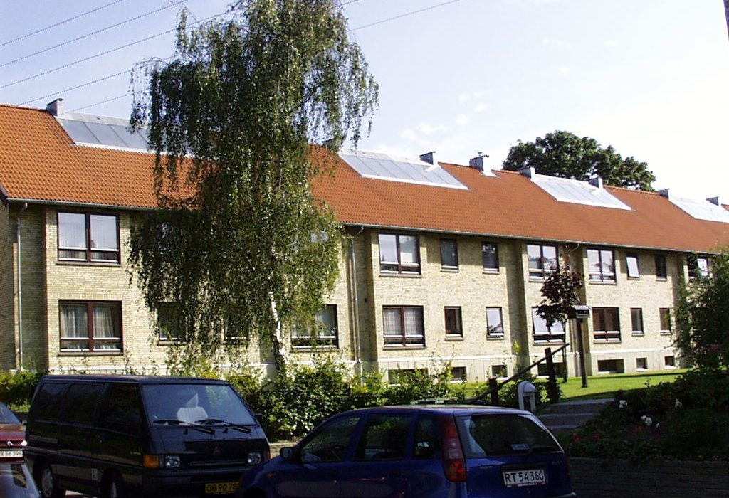 Batec Solar Heat Europe – Collective system in Lyngby, Denmark