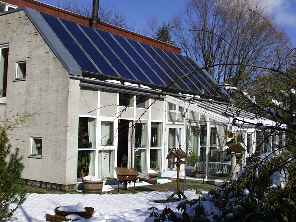Batec Solar Heat Europe – Combisystem in private house in Denmark