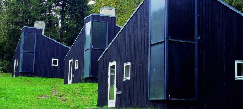 Batec Solar Heat Europe – Facade integrated collectors in Danish summer houses