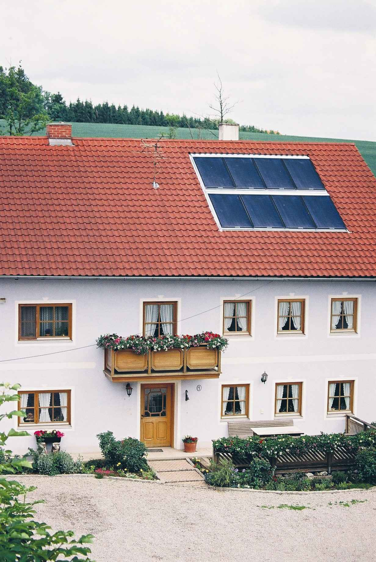 Conergy AG Solar Heat Europe – Roof integrated flat plate collectors