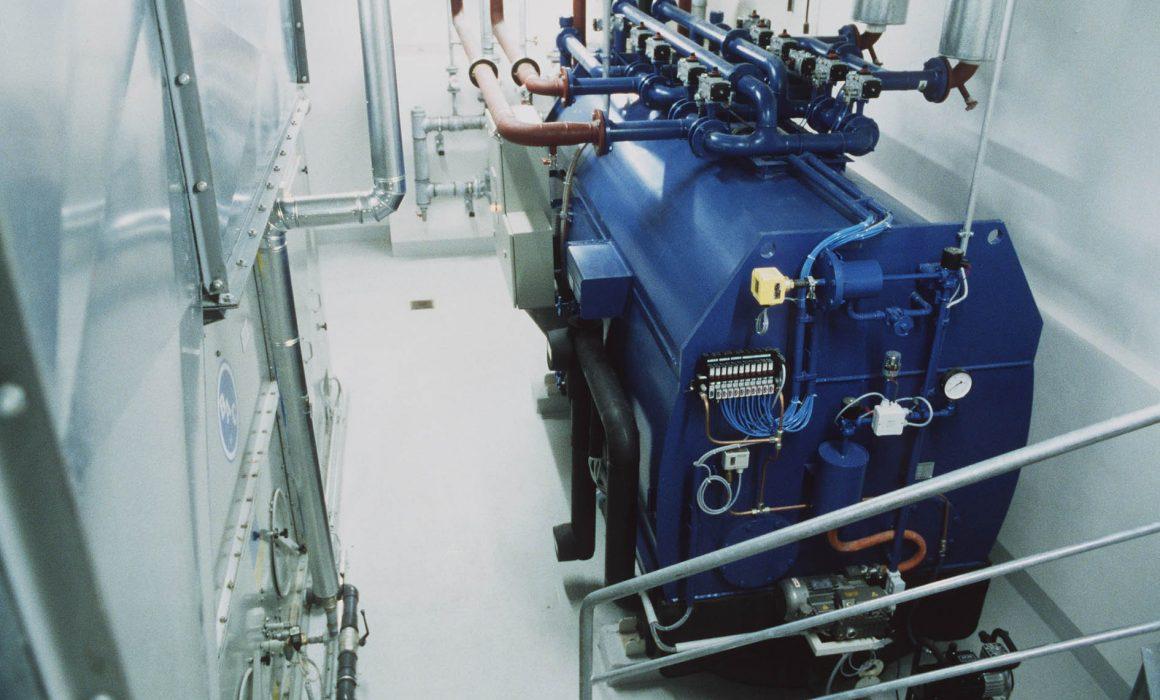 Fraunhofer ISE Solar Heat Europe – 70 kW Absorption -chiller in hospital, Freiburg, Germany