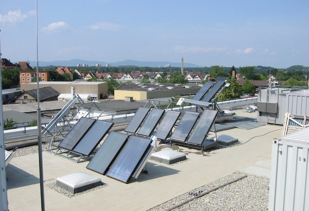 Fraunhofer ISE Solar Heat Europe – Exposition tests