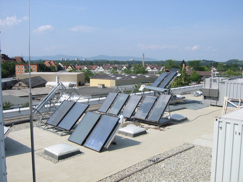 Fraunhofer Ise Solar Heat Europe Exposition Tests