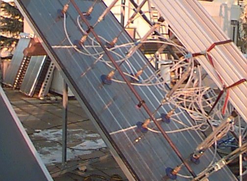 Fraunhofer ISE Solar Heat Europe – Facility for mechanical load test
