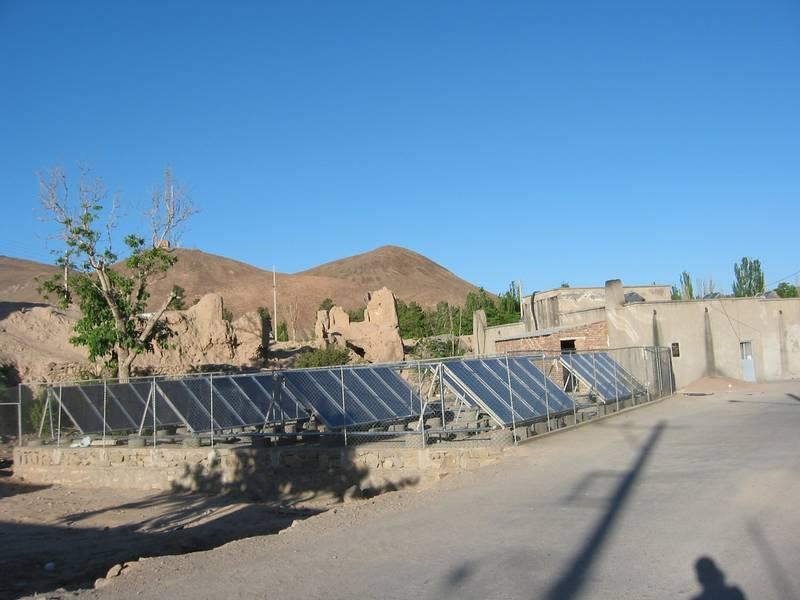 GREENoneTEC Solar Heat Europe – Collector field in Iran
