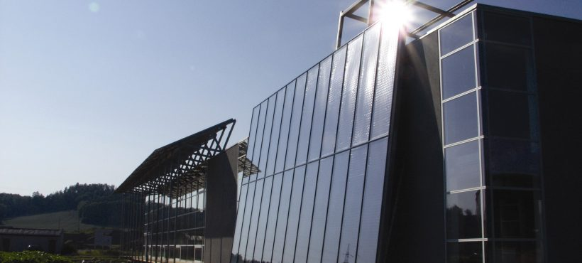 GREENoneTEC Solar Heat Europe – Facade integrated flat collectors – Picture 2