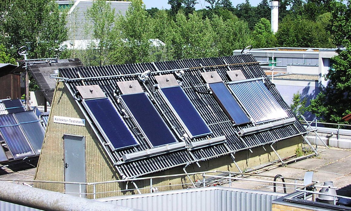 ITW Solar Heat Europe – Outdoor collector test facilities