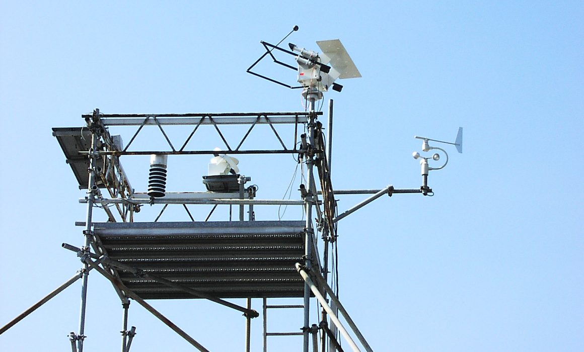ITW Solar Heat Europe – Weather station for component tests
