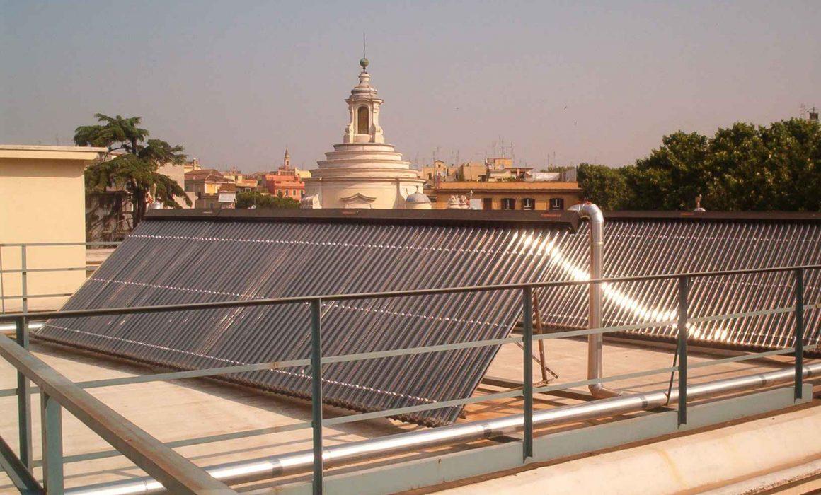 Kingspan Environmental Thermomax Solar Heat Europe – Hospital in Rome