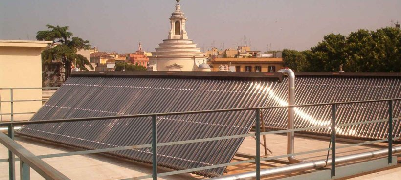 Kingspan Environmental Thermomax Solar Heat Europe – Hospital in Rome