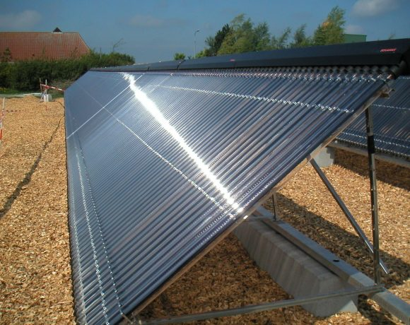 Kingspan Environmental Thermomax Solar Heat Europe – Vacuum tube collectors on building in South Africa – picture 2
