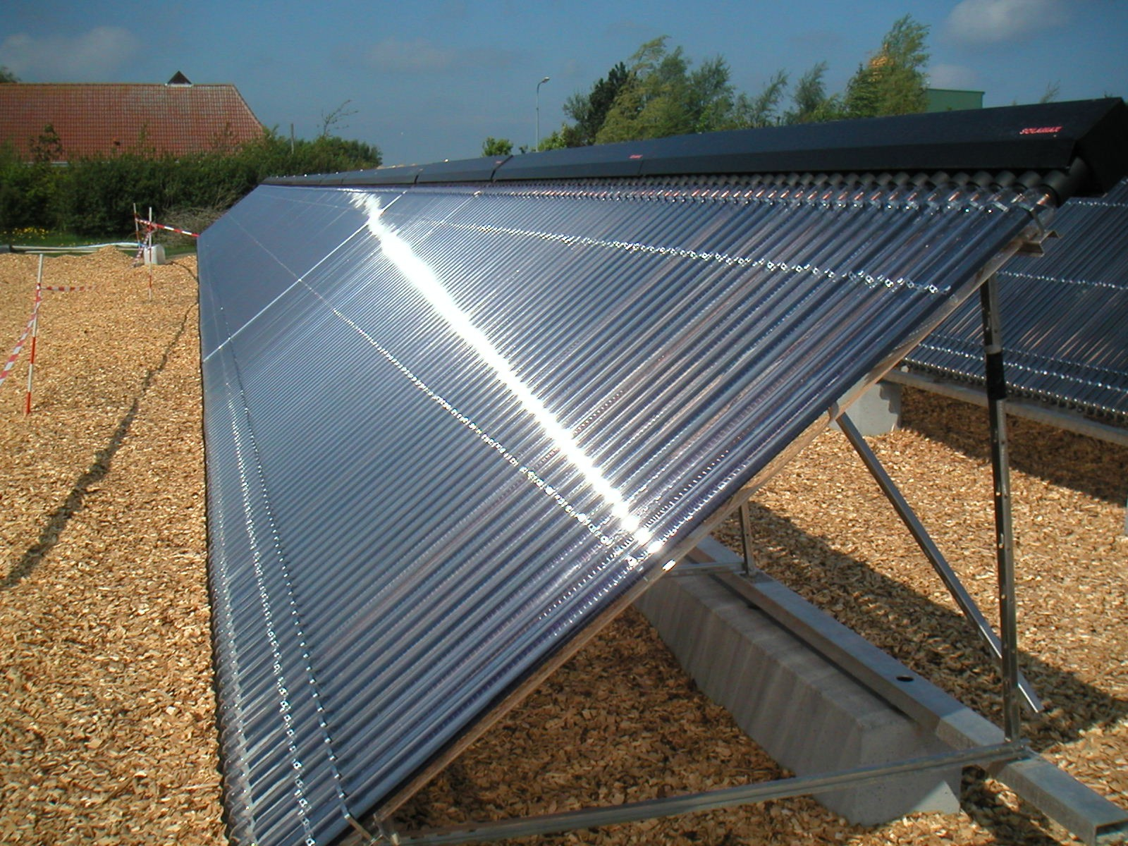 Kingspan Environmental Thermomax Solar Heat Europe – Vacuum tube collectors on building in South Africa – V2