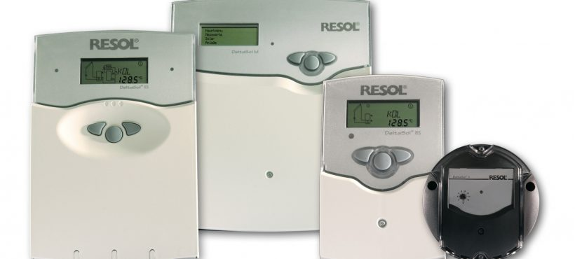 RESOL Solar Heat Europe – Solar controllers