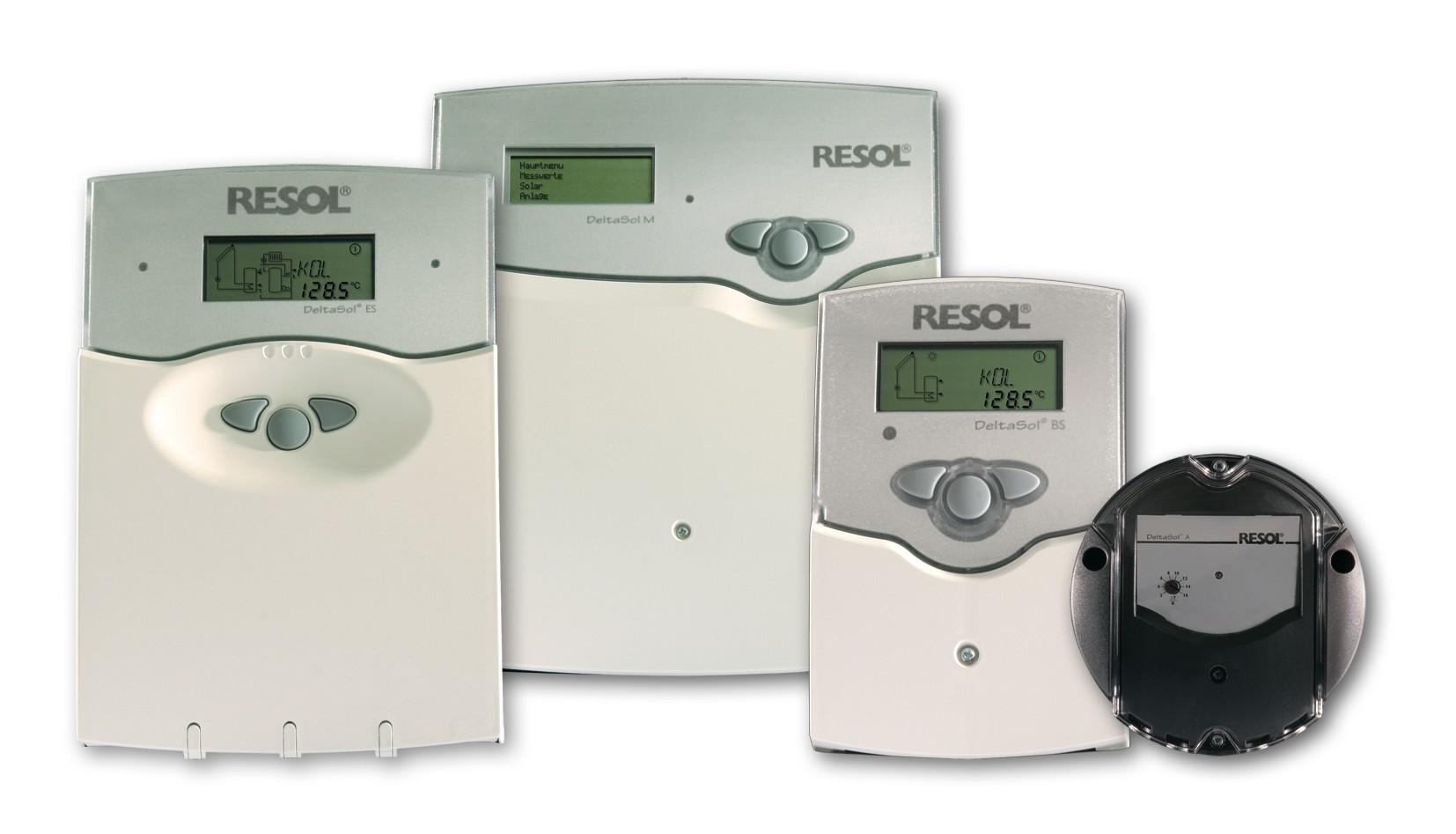 RESOL Solar Heat Europe – Solar controllers
