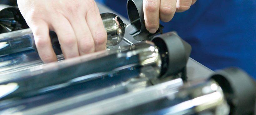 Ritter Solar Solar Heat Europe – Mounting of tube fixer