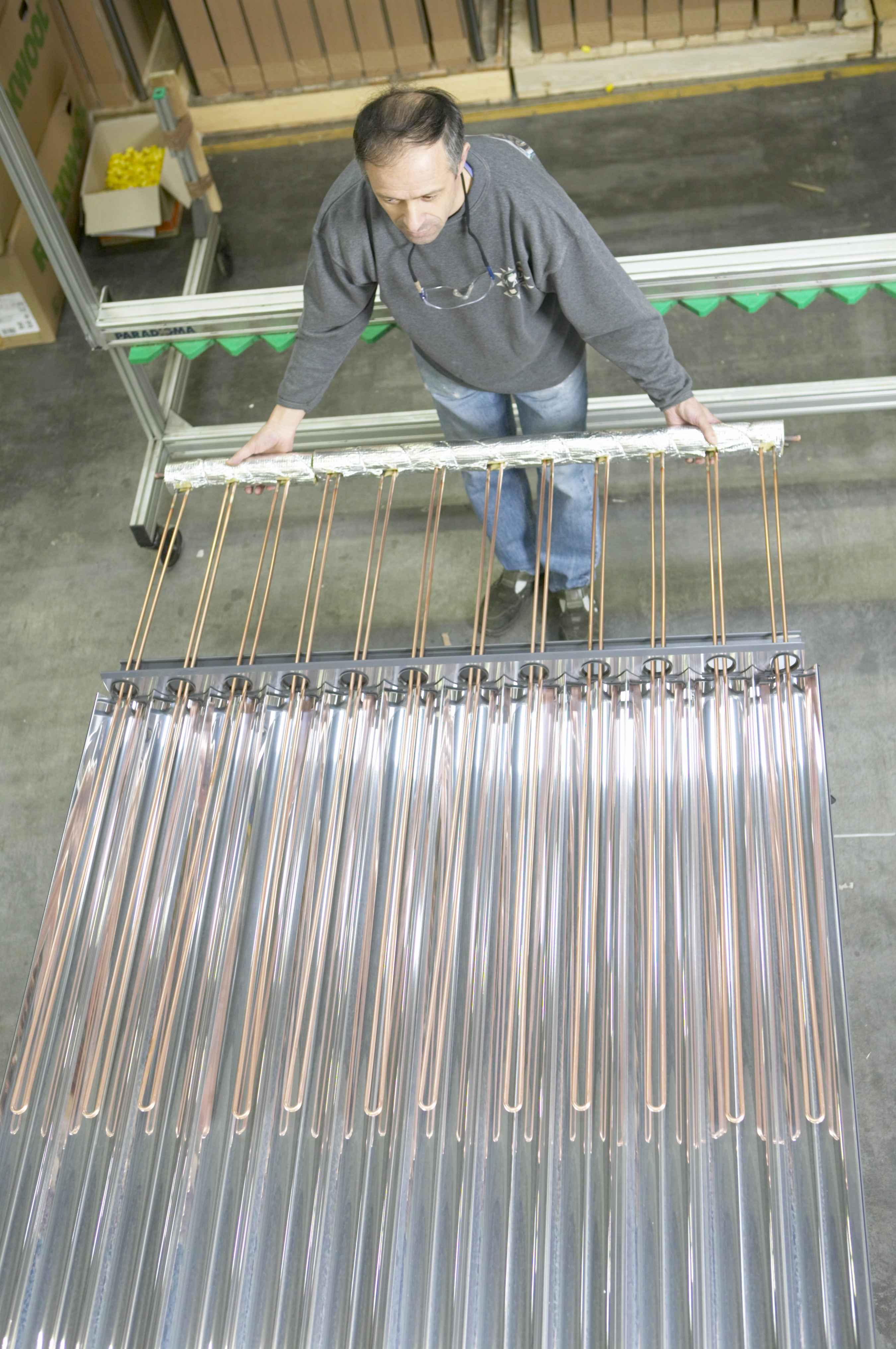 Ritter Solar Solar Heat Europe – Vacuum tube construction