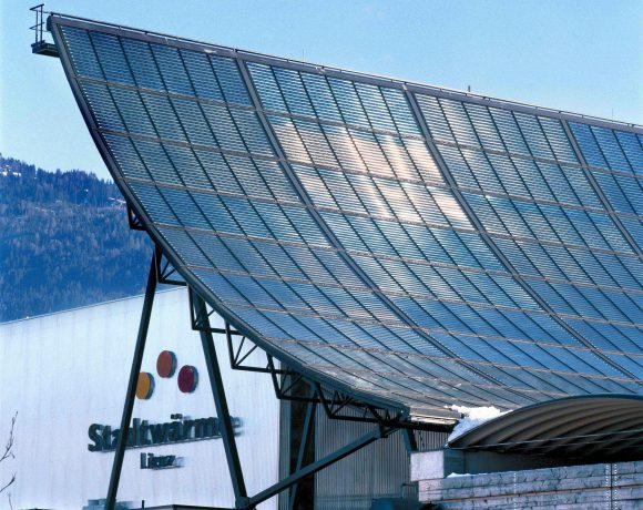 S.O.L.I.D Solar Heat Europe – Collector field for district heating, Lienz, Austria