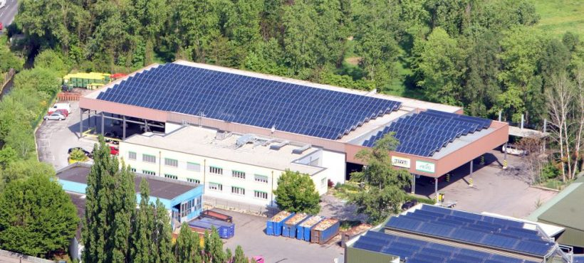 S.O.L.I.D Solar Heat Europe – Waste treatment facility – Graz, Austria