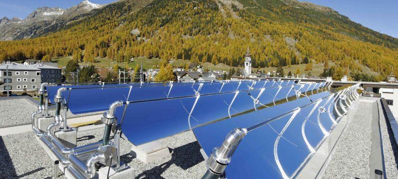 Schweizer Solarpreis 2012 Solar Heat Europe -Lataria Engiadinaisa – Dairy – Eastern Switzerland