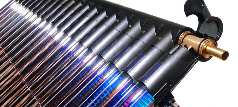 Solar Heat Europe – Evacuated tube collector using high temperature composites as a manifold fluid