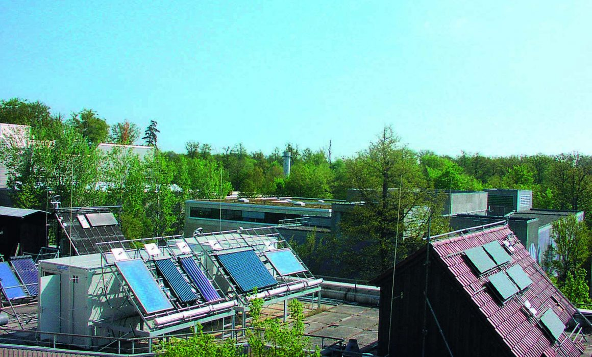 University of Stuttgart Solar Heat Europe – Outdoor test facilities of the Research and Testing Centre for Thermal Solar Systems (TZS) at the Institute of Thermodynamics