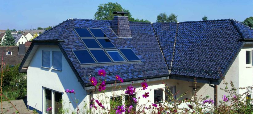 Velux Solar Heat Europe – Roof integrated flat plate collectors on house in Germany – Picture 3