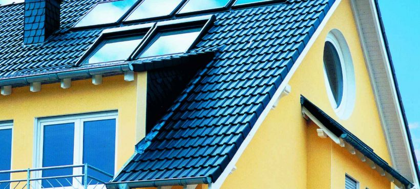 Velux Solar Heat Europe – Roof integrated flat plate collectors on house in Germany – Picture 2