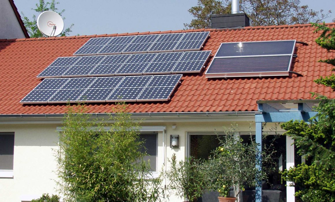 Wagner & Co Solar Heat Europe – Photovoltaic panels and solar thermal collectors on the same roof