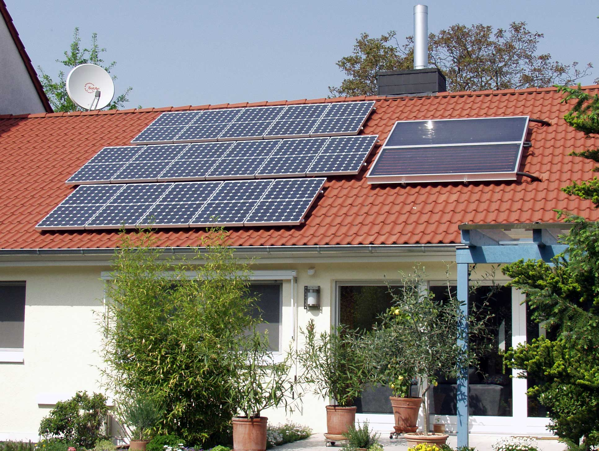 Wagner&Co Solar Heat Europe – Photovoltaic panels and solar thermal collectors on the same roof