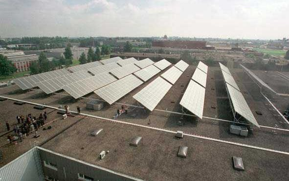 Zensolar Solar Heat Europe – Flat plate collectors field