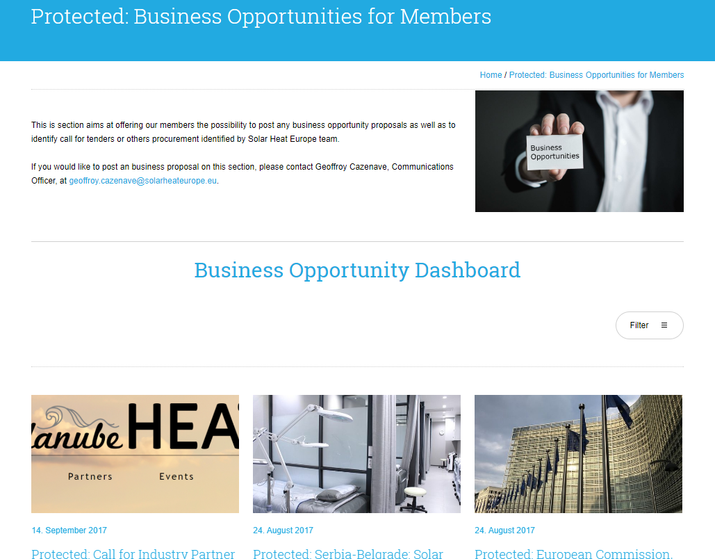 Business Oppotunities