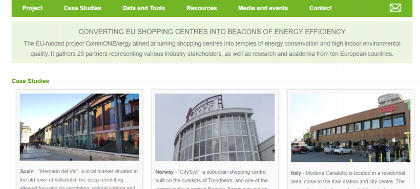 CommONEnergy –  Cost-competitive deep renovation of shopping centres