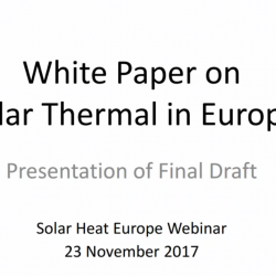 Protected: Webinar: Solar thermal challenges and opportunities: from the European to the national level presenting the Solar Thermal White Paper