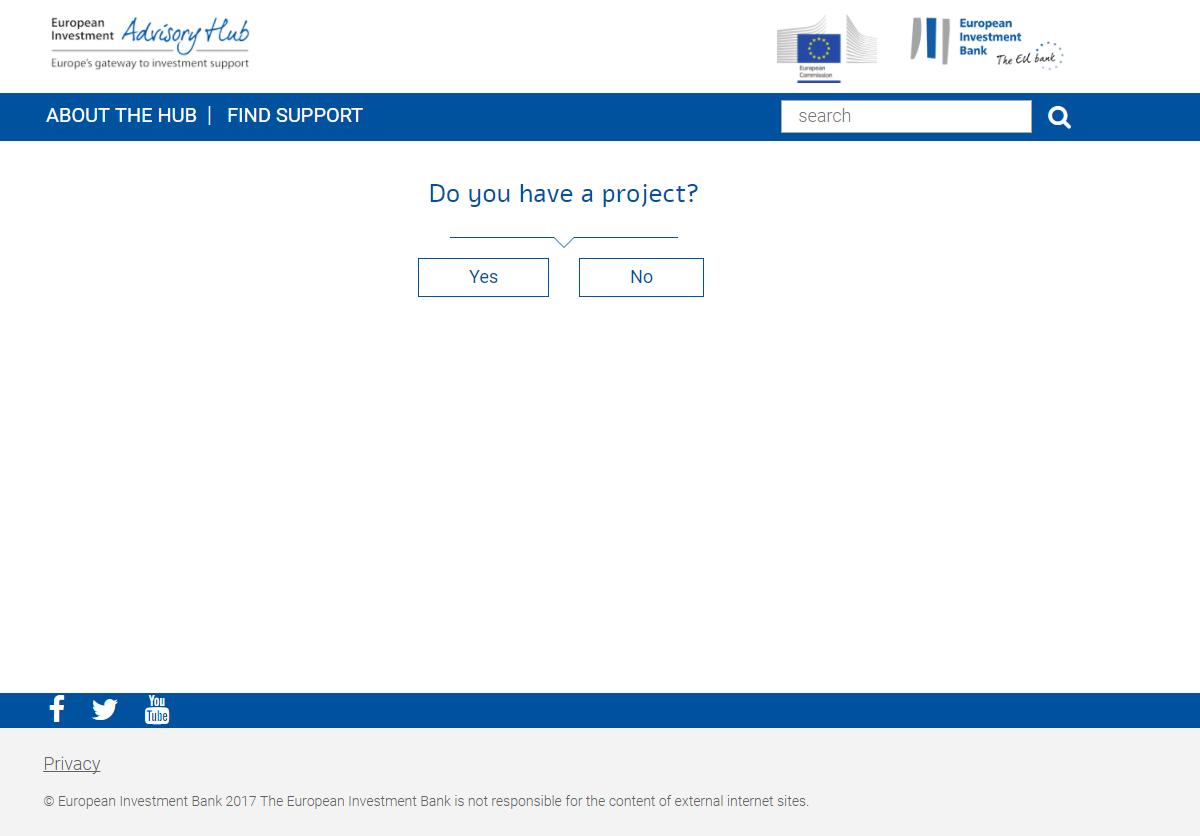 EU tool on financing projects – give us feedback!