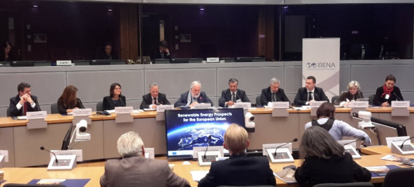 IRENA report on RES prospects in the EU – launch event