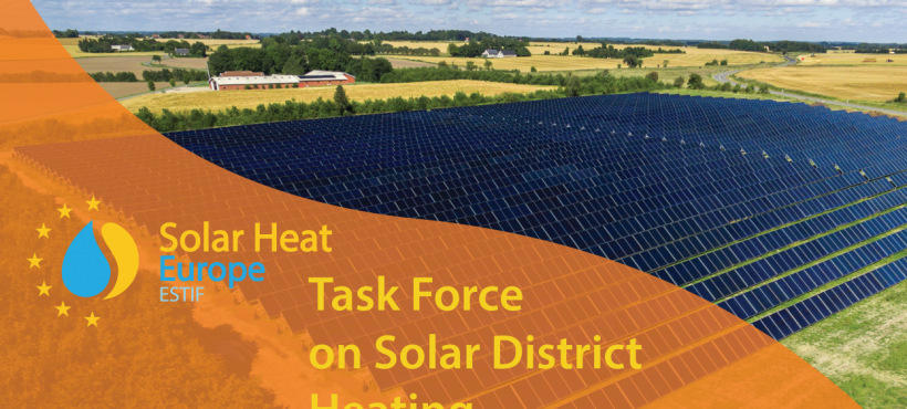 Solar Heat Europe: Task Force on Solar District Heating
